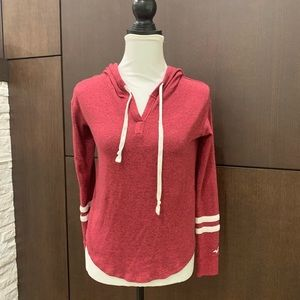 Hollister hooded T-shirt sweater small